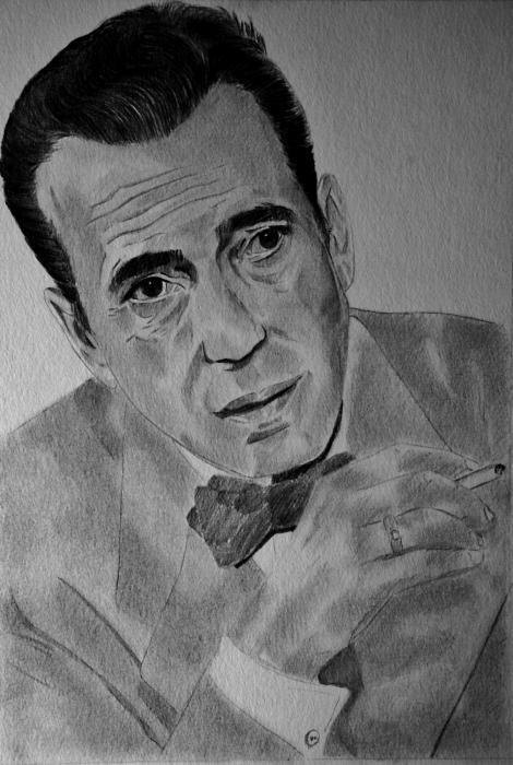 Humphrey Bogart by umberto
